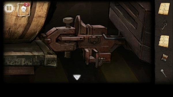 болтом закрепляем вагон в игре выход из заброшенной шахты