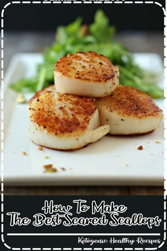 but I feel like this is an important one How To Make The Best Seared Scallops