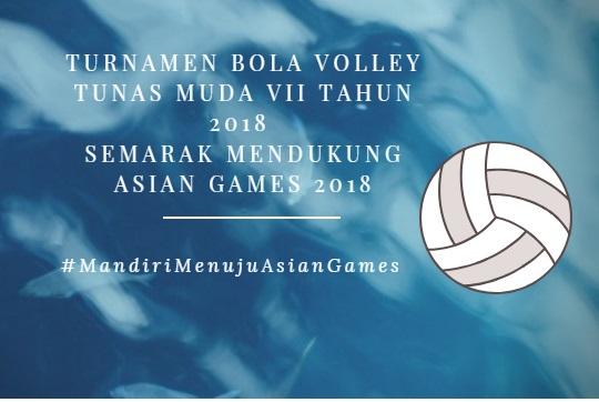 Dari Mandiri Menuju Asian Games Hingga Turnamen Bola Volley Tunas Muda VII
