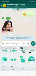 Telegram stickers for WhatsApp Apk screenshot