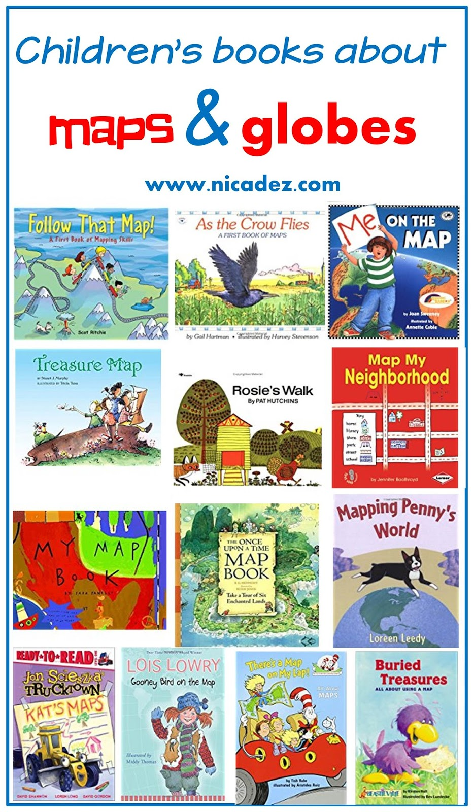 A Teacher's Idea: 13 Great Read Alouds for Teaching Map