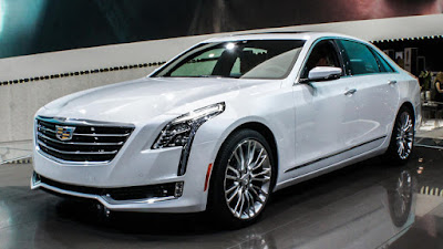 All New 2017 Cadillac CT6 Sedan front look images