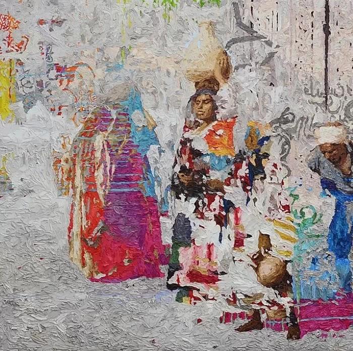 Египетский художник.