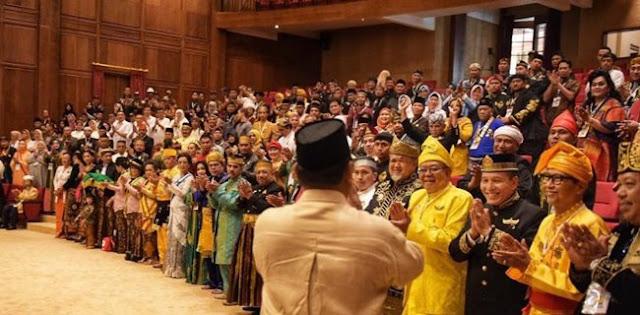 Prabowo Didukung Raja Nusantara