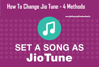 How To Change Jio Tune - 4 Methods