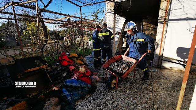 Τραγικές στιγμές στην Πυργέλα με τα δυο άτυχα αδέλφια που κάηκαν από πυρκαγιά στο σπίτι τους