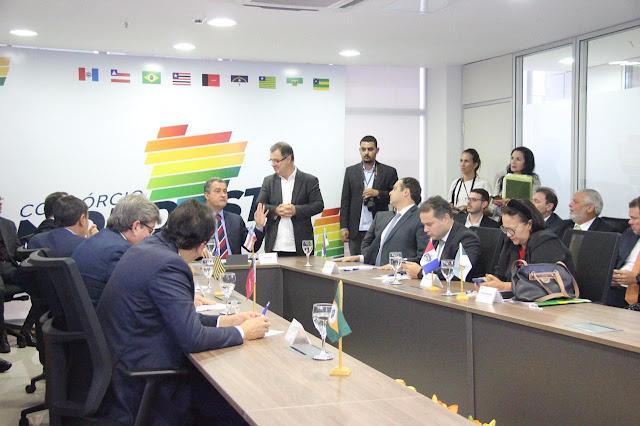 Consórcio do Nordeste traça agenda 2020