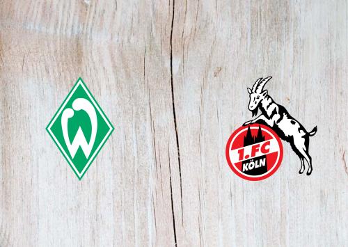 Werder Bremen vs Köln -Highlights 06 November 2020