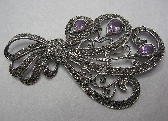 Resultado de imagen para marcasite jewelry