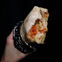 Veggie burrito - Muchacho Rose Street Aberdeen