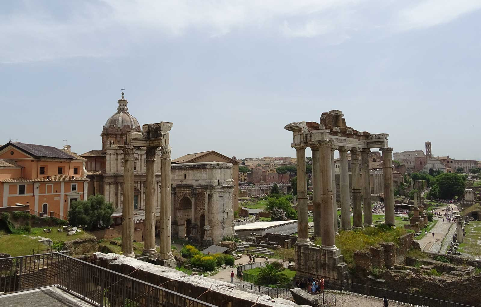 Voyage Italie Rome Forum Romain