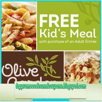 Free Promo Codes and Coupons 2018: Olive Garden Coupons