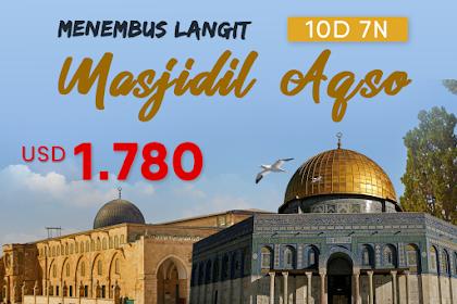 Paket Tour Masjidil Aqso