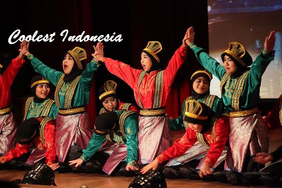 Complete list of traditional dance on the island of Sumatra