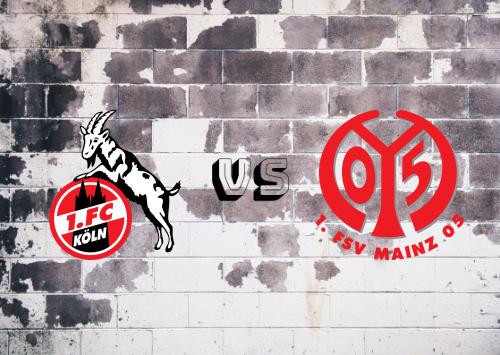 Köln vs Mainz 05  Resumen