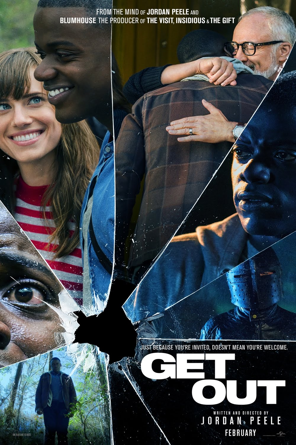 Get Out (2017) 720p HEVC Hindi 350MB BluRay