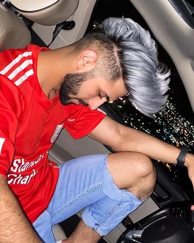 Silver Hair colour.