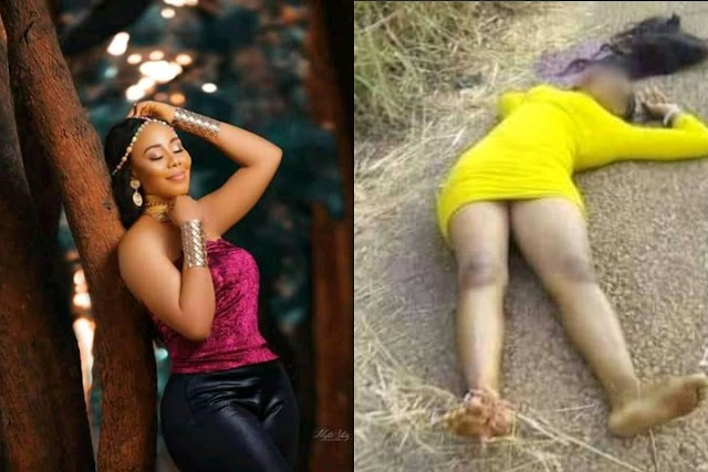 Suspected Cultists In Ebonyi State reportedly killed Beautiful Nigerian Lady and Her Fiancee