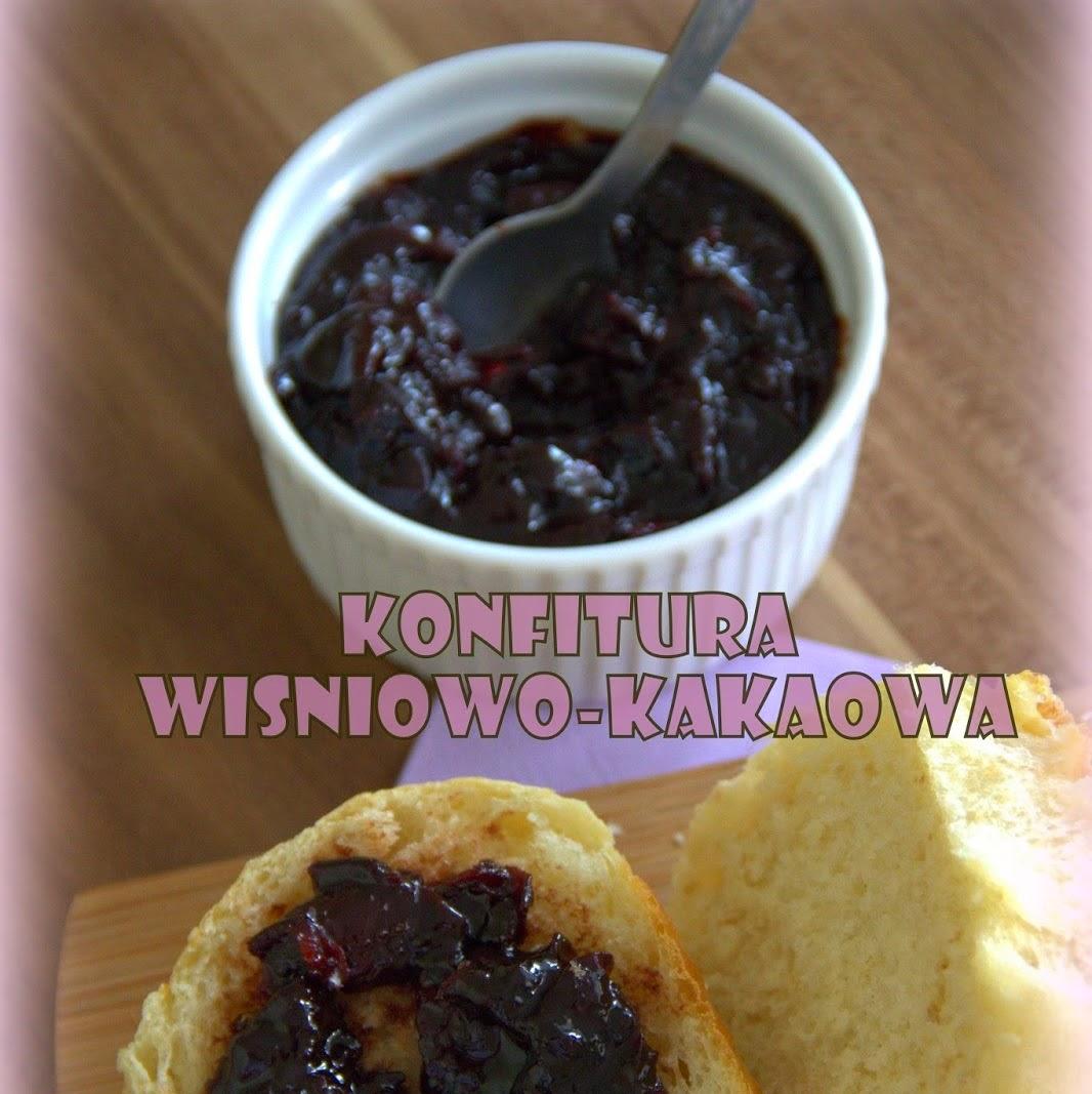 Konfitura wiśniowo-kakaowa