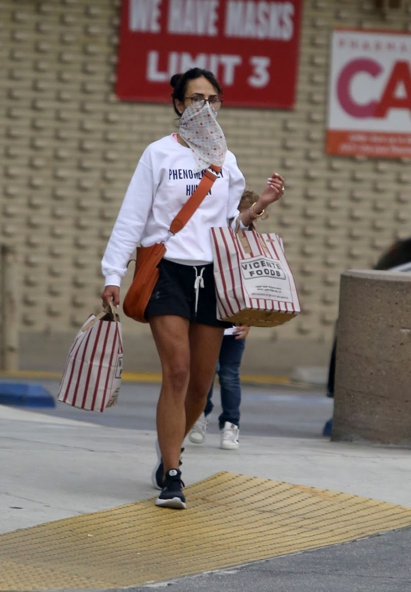 Jordana Brewster  Clicked Out For Shopping in Los Angeles 22 Jun -2020
