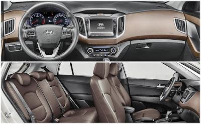 2017 Hyundai Creta Facelift interior look