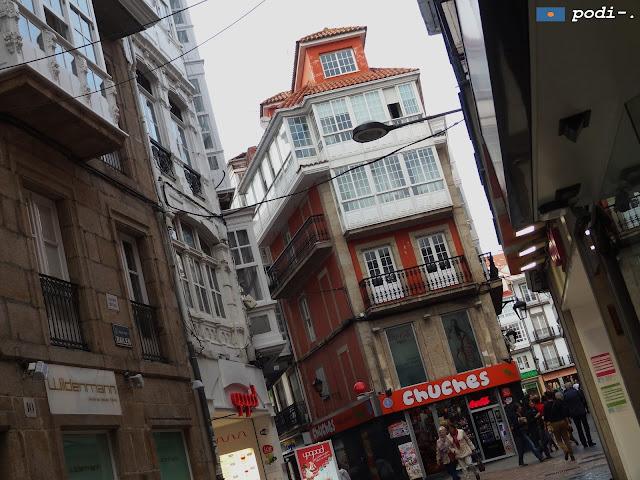 A Coruña, Chuches, rua Bailén