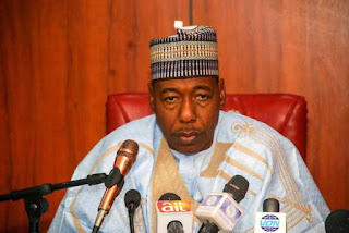 Many Borno children are into Boko Haram and are being sponsored by many people across the world - Governor Zulum