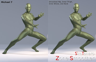 Zone Smoother for Genesis 3 Male