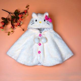 Model Mantel Jubah Bayi Warna Putih Lucu Banget 12