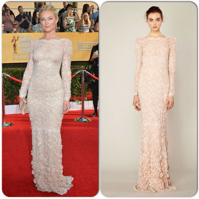 Elisabeth Rohm in Marchesa – 2014 SAG Awards