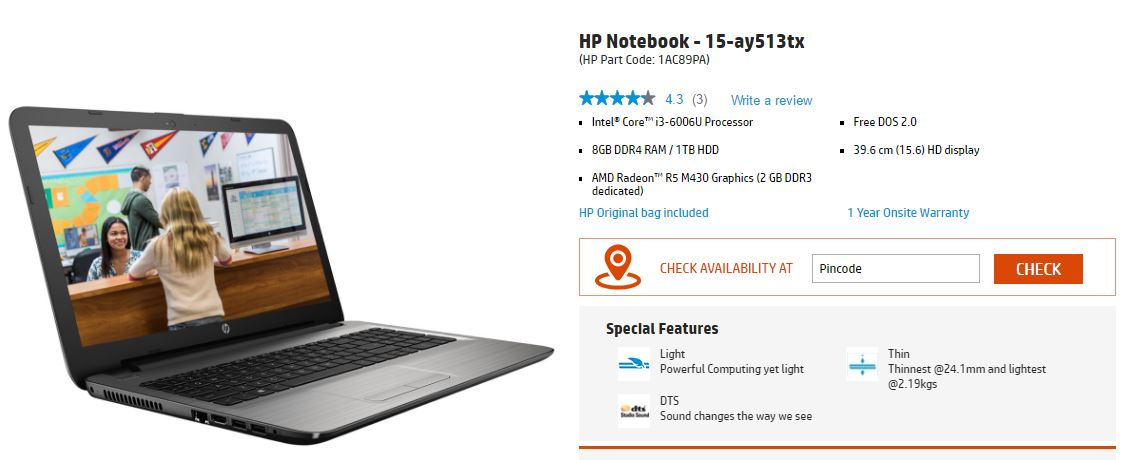 hp ay513tx review