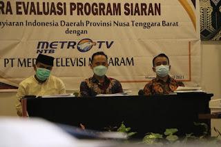 Konten Lokal Harus Terpenuhi 10 Persen, Syrajuddin: Perlu Diatur Dalam Perda NTB