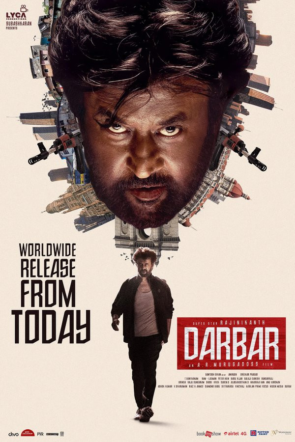 Darbar 2020 Hindi Dubbed 720p pDVDRip 1GB Download