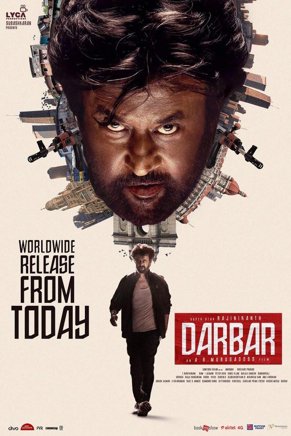 Darbar 2020 Hindi Dubbed 450MB pDVDRip Download