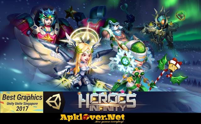 Heroes Infinity MOD APK unlimited money