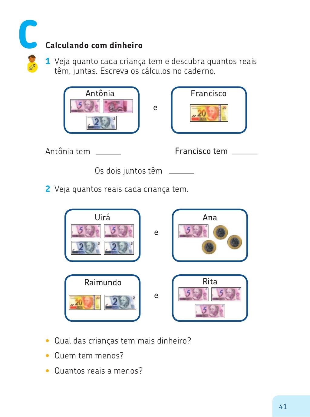 Super APRENDENDO O SISTEMA MONETÁRIO - PROJETO ESCOLA ATIVA  ML74