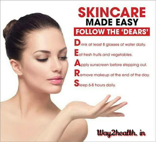 Skin care tip