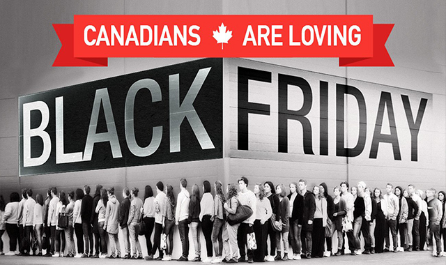 Black Friday: 6 insights on the buying behavior of Canada #infographic