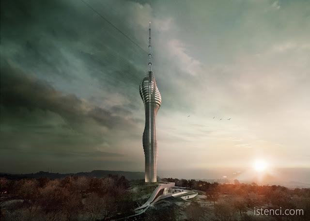 Küçük Çamlıca Televizyon Kulesi, Mimari Tasarımı
