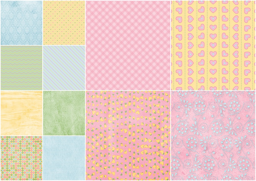 Sweet 16 Papers and Frames of the Spring Party Clipart. | Oh My ...