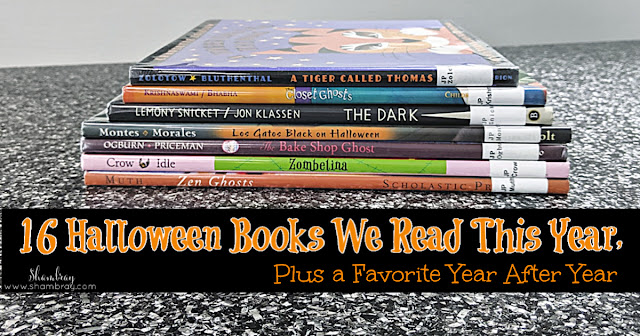 16 NEW Halloween Books for Kids, Plus a Favorite Year After Year