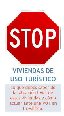 Folleto Stop Vivienda Turística. Asociaciones Vecinales Madrid Centro
