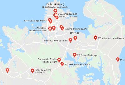distributor produk impor dan ekspor di Batam