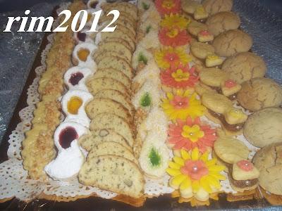 حلويات مغربية بلاطو لاشكال عديدة من الحلويات المغربية بالصور 1.jpg