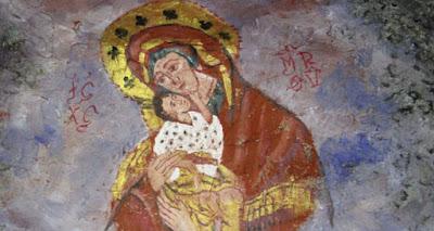 Η Γλυκοφιλούσα στο ναό της Θεοτόκου στην Κερασούντα