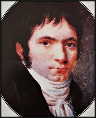 Πορτρέτο του Μπετόβεν σε σχετικά νεαρή ηλικία