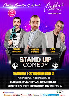Stand-Up Comedy Sambata 1 Octombrie Bucuresti