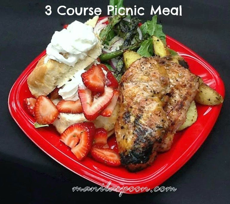 3 Course Picnic Meal: Holland Farmer's Market Chef Series