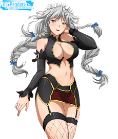 High School DxD - Grayfia Lucifuge Render 4