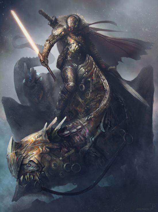 Jose Parodi artstation arte ilustrações fantasia ficção sombria games dark